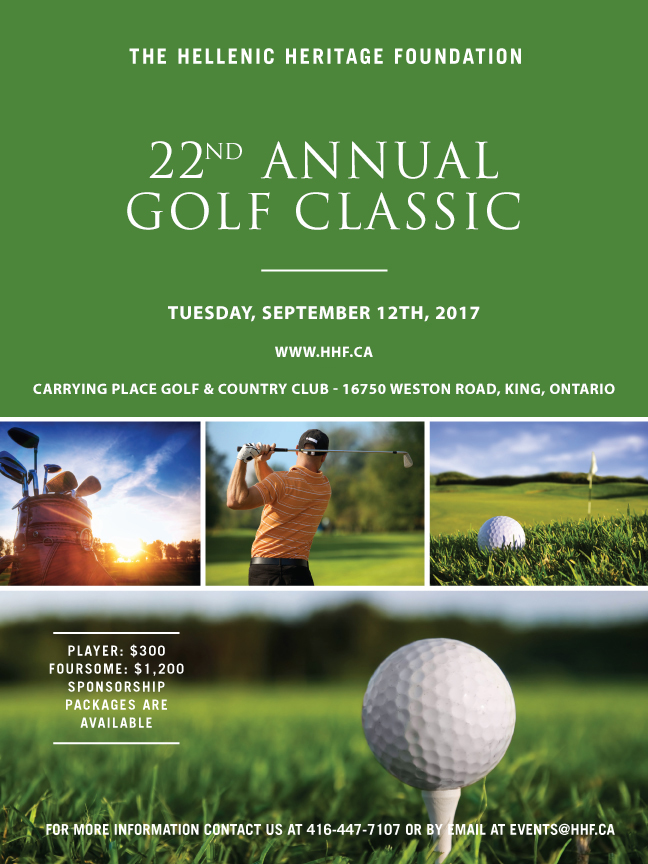 Hellenic Heritage Foundation Annual Golf Classic