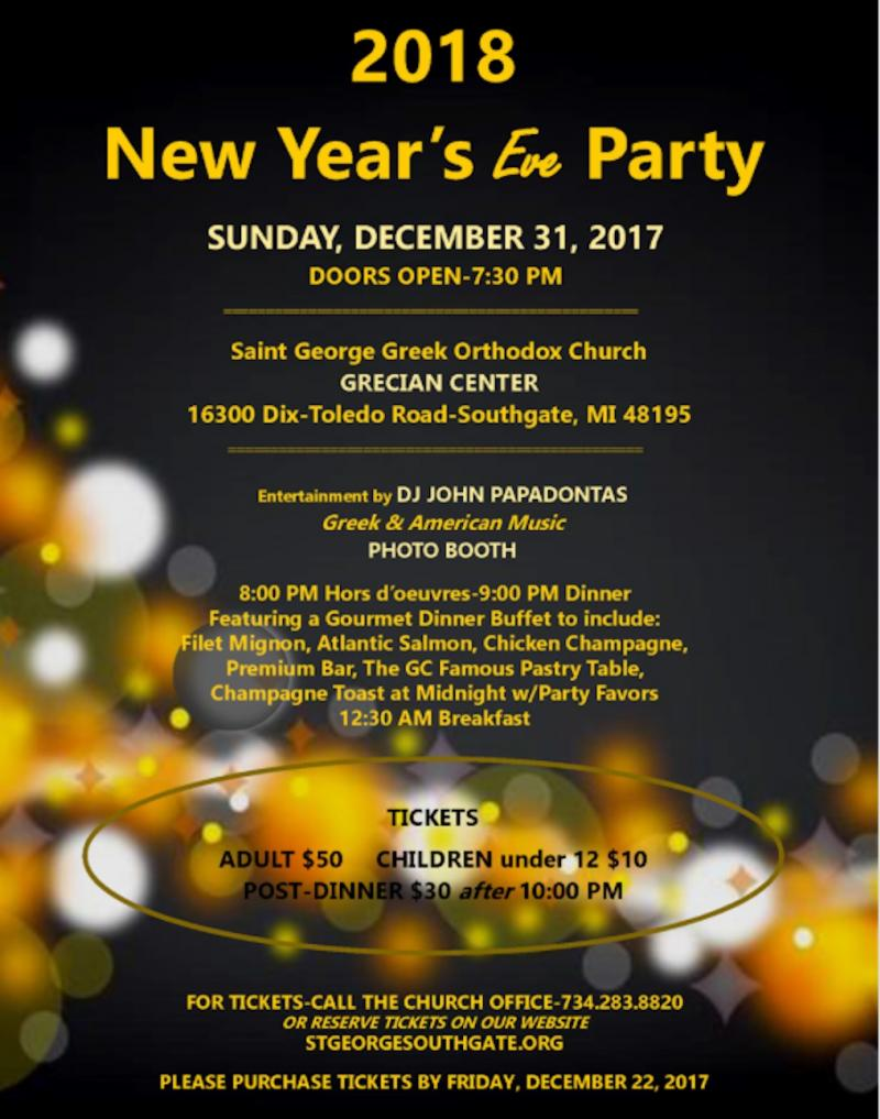 2018 New Years Eve (Detroit)