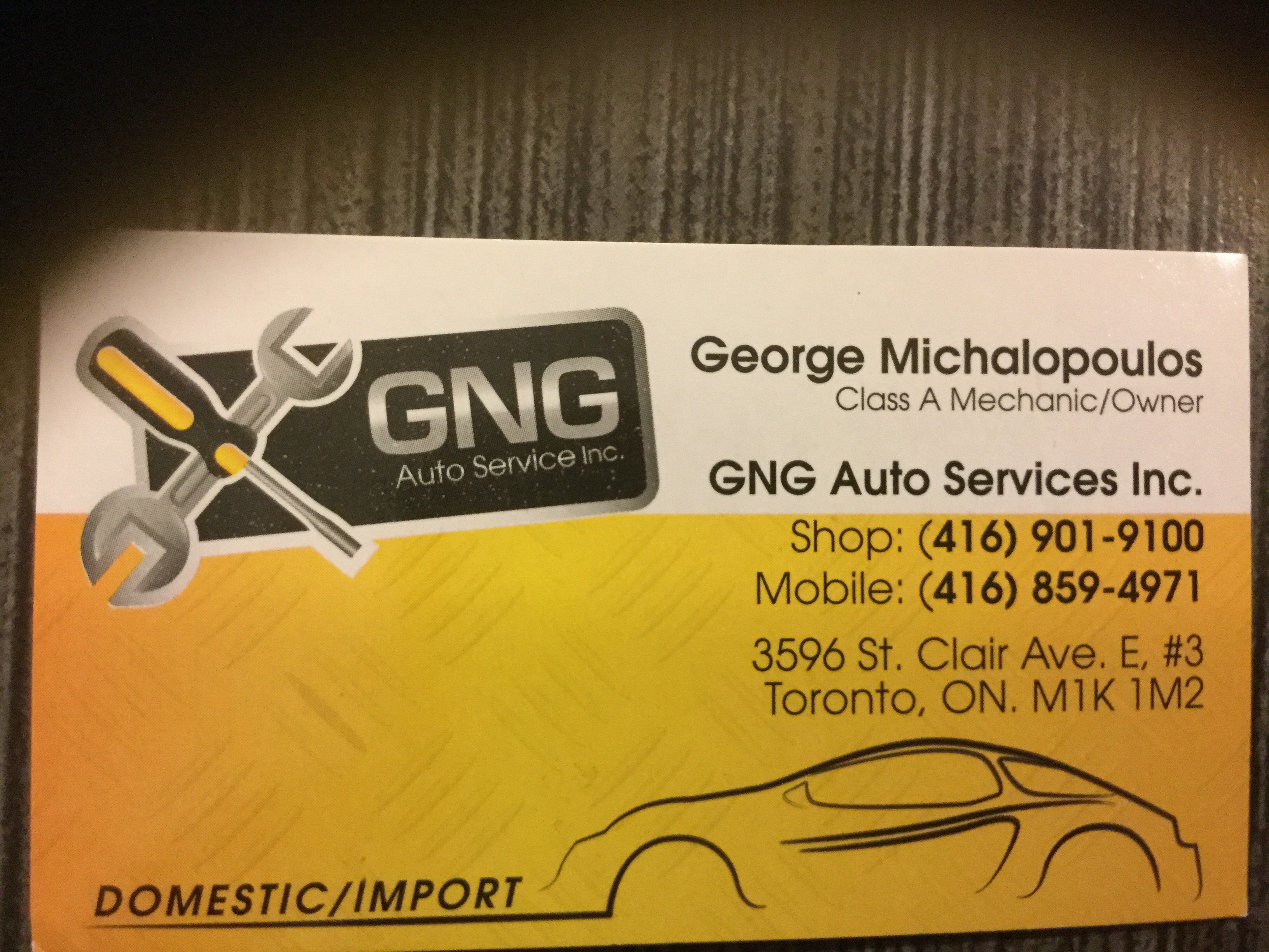 GNG AUTO SERVICES